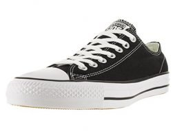 Converse Unisex Chuck Taylor All Star Pro Ox Black/White Skate Shoe 11.5 Men US
