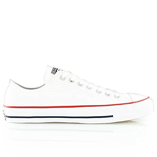 c62aca81e497 Converse Unisex Chuck Taylor All Star Pro Ox White Red NA Skate Shoe 10 Men  US 12 Women US