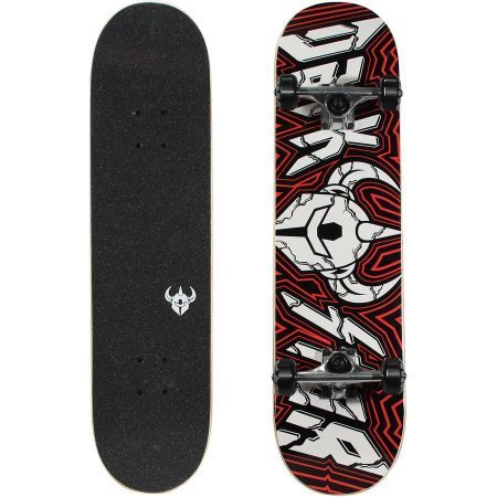 Darkstar 40 Complete Skateboard, Shattered Red
