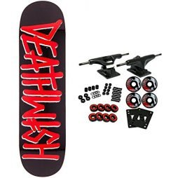 Deathwish Skateboard Complete Deathspray Red 8.25″