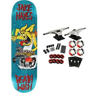 Deathwish Skateboard Complete Hayes Creeps (Assorted) 8.0""
