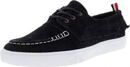 Diamond Supply Co Yacht Club Men US 10 Black Boat Shoe