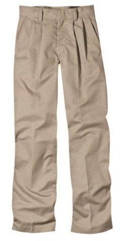 Dickies Boys' Pleated Front Pant