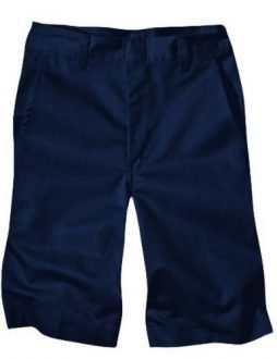 Dickies Boys' Husky Classic Fit 8-20 Flat Front Short - School Uniform