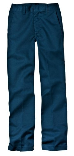 Dickies Little Boys' Classic Flat Front Pant,Dark Navy,7 Regular