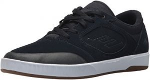Emerica Men's Dissent Skate Shoe, Navy/White, 10.5 Medium US