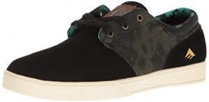Emerica Men's Figueroa x Harsh Toke Skateboarding Shoe, Black/Green, 12 M US