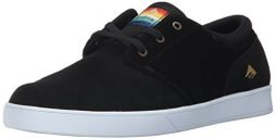 Emerica Men's The Figueroa Skate Shoe, Black, 10 Medium US