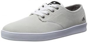 Emerica Men's The Romero Laced Skate Shoe, White/Gum, 12 M US
