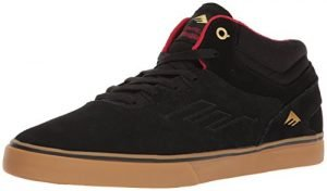 Emerica Men's Westgate Mid Vulc Skateboarding Shoe, Black/Gum, 6 M US