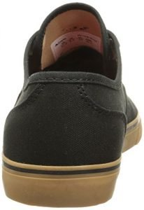Emerica Men's Wino Cruiser Skateboard Shoe, Black/Gum, 10.5 M US
