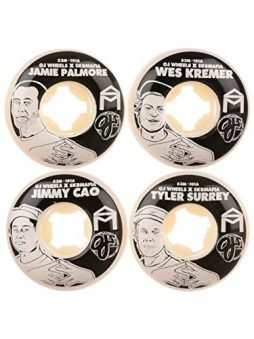 OJ Wheels 53mm Mafia Family Original EZ Edge 101a Skateboard Wheel