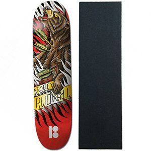 "Plan B Skateboard Deck Pudwill Aces 7.75"" With Griptape"