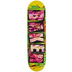 Baker Hawk Brand Name Fingerpaint Skateboard Deck – 8.47″