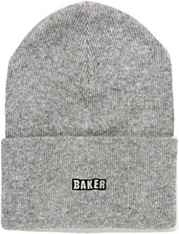 Baker Skateboards Chico Heather Grey Beanie