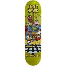 "Birdhouse Hawk Vices Skateboard Deck - 8.00"" - Various Stain"