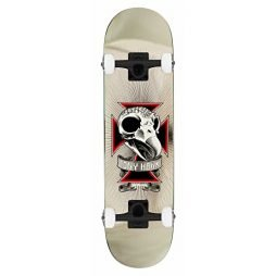 Birdhouse Skateboard Complete Tony Hawk Skull 2 Chrome 7.75""