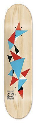 Blvd Skateboards AcidDrop 06 Skateboard Deck, 7.75-Inch
