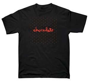 CHOCOLATE Skateboard Shirt FLOATER CHUNK BLACK Size S