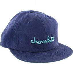 Chocolate Skateboards Chunk Deep Blue / Teal 6 Panel Hat – Adjustable