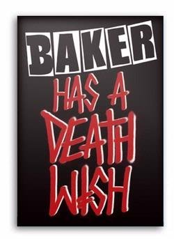 Deathwish BAKER HAS A DEATH WISH DVD