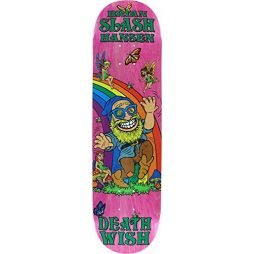 Deathwish Slash Happy Place Deck 8.0 – Assembled as COMPLETE Skateboard