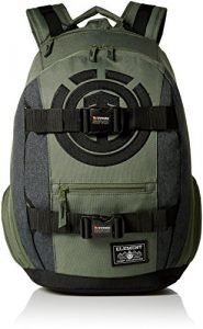 Element Men's Mohave Skate Backpack with Straps and Laptop Sleeve, Duck Charcoal Heather, ONE