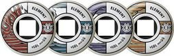 Element Skateboard Wheels 50MM 101A WWFE Set of 4
