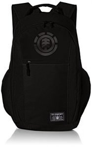 Element Young Men's Sparker Backpack with Laptop Sleeve Accessory, all black, ONE