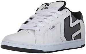 Etnies Men's Fader 2 Skate Shoe, White/Grey/Black, 9 Medium US