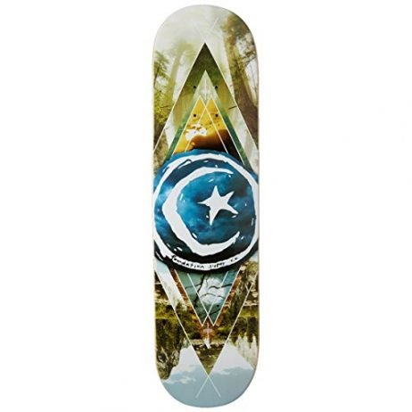 """Foundation Star and Moon Geometry Skateboard Deck - 8.125"""""""