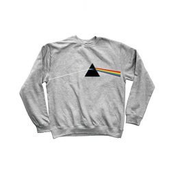 HABITAT PINK FLOYD Skateboard SWEATSHIRT DARK SIDE OF THE MOON GRAY M
