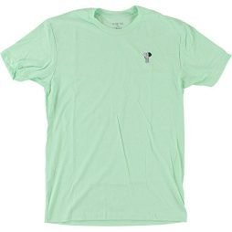 Habitat Skateboards Elephant Embroidered Mint Men's Short Sleeve T-Shirt – Small