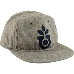Habitat Skateboards Felt Bloom Grey Snapback Hat – Adjustable