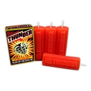 Thunder Trucks Speed Red Skate Wax