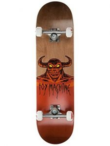 "Toy Machine Hell Monster Skateboard Complete 8.25"" X 32"" (NEW & SEALED)"