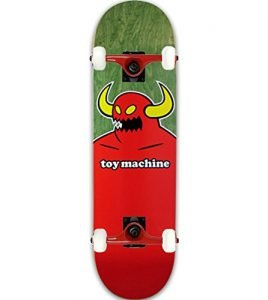"Toy Machine Skateboard MONSTER XL (ASSORTED COLORS) 8.5"" Tensor Assembled"