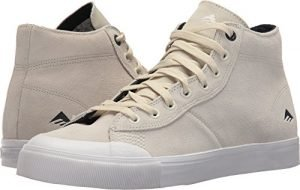 Emerica Men's Indicator High Skate Shoe, White/White, 13 Medium US