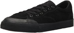 Emerica Men's Indicator Low Skate Shoe, Black/Black/Gum, 10.5 Medium US