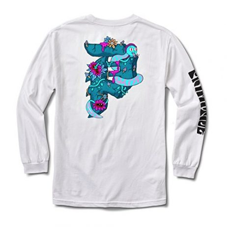 Primitive x Rick and Morty Dirty P (White) Long Sleeve T-Shirt