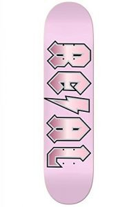 Real Deeds Elite Skateboard Deck (8.06, Pink)