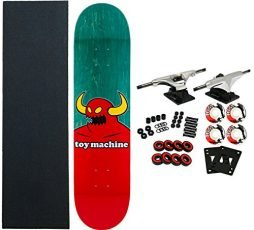 Toy Machine Complete Pro Skateboard Monster (Assorted Colors) 8.125