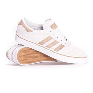 adidas Adi-Ease Premiere (Crystal White/Hemp/White) Men's Skate Shoes-9