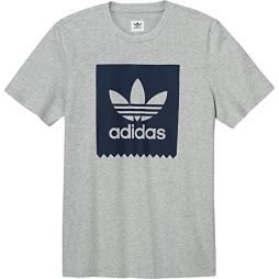 adidas Originals Men's Skateboarding Solid Blackbird Tee
