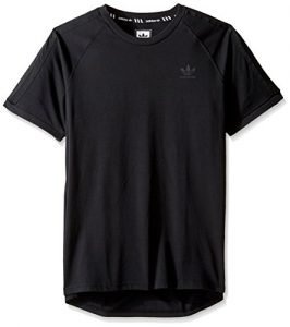 adidas Originals Men's Tops Skateboarding California Tee, Black, Large