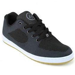 eS Men Accel Slim Ever Stitch Black Shoes Size