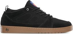 eS Men's SLB Mid Skate Shoe, Black/Gum, 8.5 Medium US