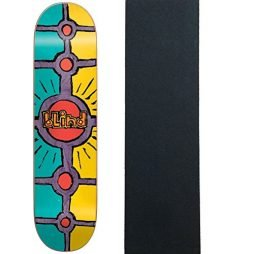 """Blind Skateboard Deck Impact Light Holy Grail Assorted 8.0"""" with Grip"""