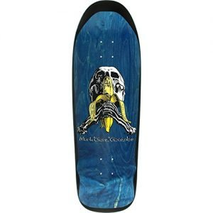 "Blind Skateboards Mark Gonzales Skull / Banana Blue Old School Skateboard Deck - Heat Transfer Graphic - 9.8"" x 32.1"""