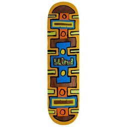 Blind Square Space HYB Skateboard Deck – Black – 8.25″